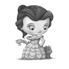 Baby Bella bimba, Black and white Print, Signed by the artist, Will Terry Will Terry, Terry Fan, Lucky Day, A Comics, Cool Art, Fun Art, Beauty And The Beast, Illustration Art, Illustrations