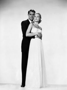 "~~SOPHISTICATES~~  Cary Grant & Grace Kelly in ""To Catch a Thief"""