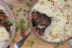 Trinity's Vegan Shepherds Pie with mushrooms & black beans