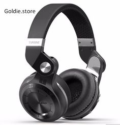 Bluedio T2plus Wireless Bluetooth Stereo Headphones  $48.89 free shipping You save 25% off the regular price of $65.89