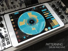 MATRIXSYNTH: Patterning : Drum Machine, coming soon from Olympi...