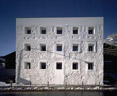 Majestic Plumage: Valerio Olgiati : Das Gelbe Haus