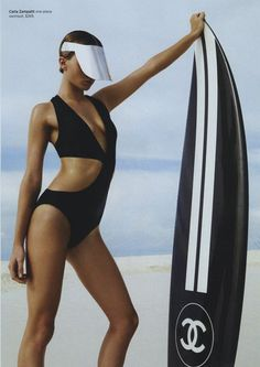 Annabella Barber photographed by Simon Lekias for Harper's Bazaar, January 2013. Shut up!  I'm about to start surfing.