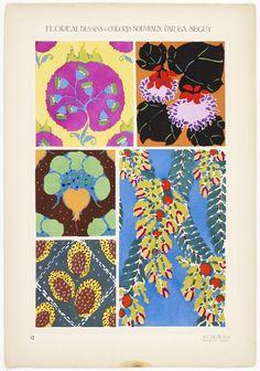 ~ E.A. Seguy - Floréal dessins & coloris nouveaux