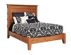Exceptional Amish Country Furnishings   Amish Furniture Dublin Ohio   Bedroom Furniture  :: Bedroom Suites :: Dutch Corbel Mission :: Dutch Corbel Mission Bed $u2026