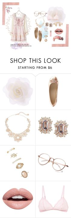"""""""Pink & Simple"""" by aliandi ❤ liked on Polyvore featuring Rothko, Accessorize, Charlotte Russe, Kate Spade, Forever 21, Nevermind, Cosabella, Børn, Kendra Scott and vintage"""