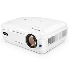 """Video Projector, Crenova XPE680 720P HD Projector, Home Theater Multimedia Video Office Projector HD 1080P 5.8"""" LCD Panel HDMI/VGA/AV/USB Input with Free HDMI Cable Support TV Laptop Game U Disk. 1. *Fantastic Experience, Incredible 2800 Lumens* With imaginative imaging innovation and premium-quality focal point's, best offer"""