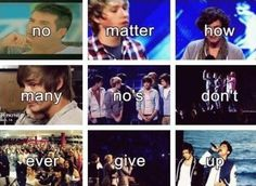 Never give up. :}