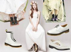 dr martens wedding shoes bridal trends novia calzado