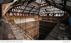 Not going to be abandoned for much longer! 5 Beekman, NYC, NY (333 by nycscout, via Flickr)