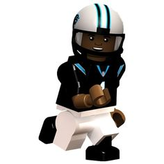 Cam Newton Carolina #Panthers OYO Minifigure. Click to order! - $12.99
