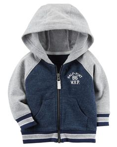 Zip-Up MVP French Terry Hoodie