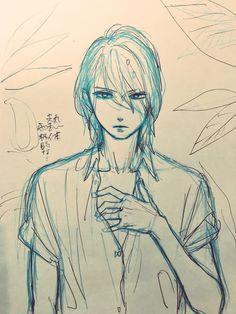 doodle of Kibikino sensei by Yamamori Mika