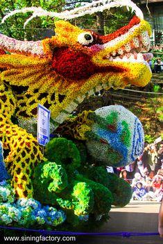 #Baguio City Flower Festival or #Panagbenga , #Philippines via http://www.siningfactory.com/