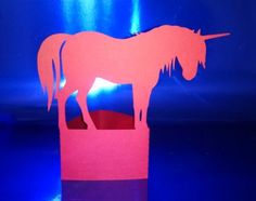DIY Unicorn stand up number one by hilemanhouse on Etsy