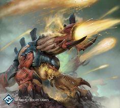 Volatile Pyrovore by Herckeim on DeviantArt(Warhammer 40k)(Tyranids)