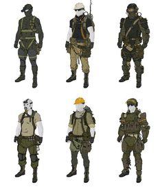 Metal Gear Online - Concept Art (Creative Uncut.com, Konami)