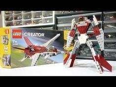 Lego Creator Sets, The Creator, Hama Beads, Alternative, Construction, Baseball Cards, Building, Youtube, Buildings
