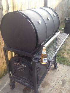 Smoker Diy Smoker, Barbecue Smoker, Oil Drum Bbq, Bbq Smoker Trailer, Barrel Smoker, Custom Bbq Pits, Diy Grill, Welding Art Projects, Metal Barrel