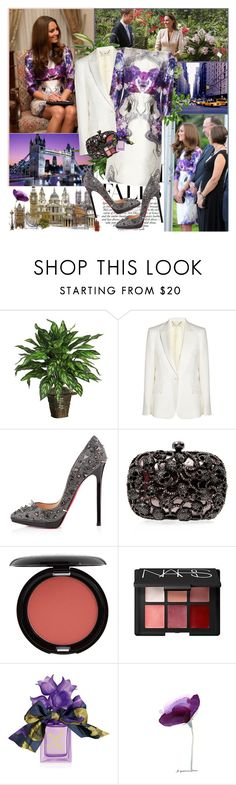 """Celebrity style: Kate Middleton September 11"" by fashionmonsters ❤ liked on Polyvore featuring Nearly Natural, STELLA McCARTNEY, Prabal Gurung, Christian Louboutin, Stila, NARS Cosmetics and Vera Wang"