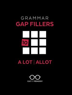 A Grammar Gap Filler is a small, powerful package of materials that teach a single spelling, grammar, or usage rule. Gap Fillers are designed to let students review just the skills they need, on their own, and then get back to writing.When you notice a student making a particular error, simply assign that student the right Gap Filler and you're done.