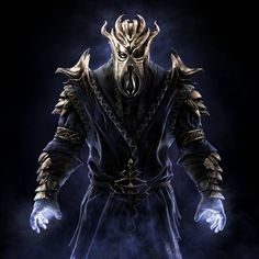 Miraak. Oh my gosh I'm starting to crush on him. Why did I have to kill him?!