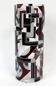 Art Deco vase by Karl Palda, circa 1930