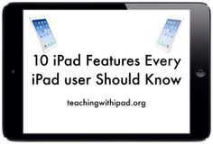 10 iPad Features Every iPad Owner Should Know Iphone Information, Technology Hacks, Teaching Technology, Technology Design, Energy Technology, Educational Technology, Computer Help, Computer Tips, Computer Internet