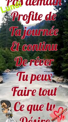 Tu Me Manques, Good Morning Inspirational Quotes, French Quotes, Morning Greeting, Motivation, Photos, Living Alone, Happy Friday, Friday Images