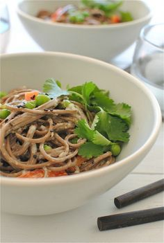 Soba for Lunch: 7 Filling Noodle Salads