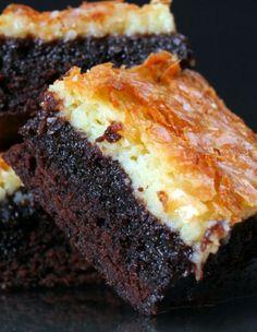 Rich & Luscious Cheesecake Brownies