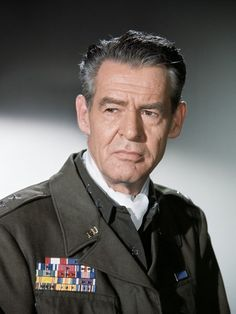 Robert Ryan - Robert Bushnell Ryan - 1909/1973 - Acteur Américain - Les tuniques écarlates/Nous avons gagné ce soir/7 secondes en enfer