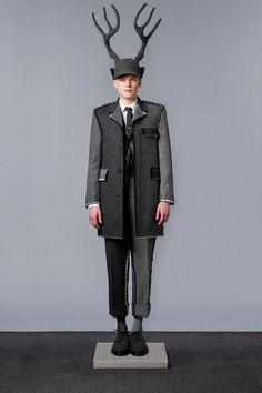 Thom Browne's Latest Lookbook is a Fresh Take on Timeless Menswear #menswear trendhunter.com