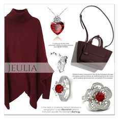 """""""Jeulia Wine Feeling"""" by lucky-1990 ❤ liked on Polyvore featuring Marc Jacobs, jewelry and jeulia"""