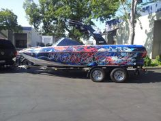 Def waking the neighbors up with this one! ChrisCmadeit one-off Malibu Wakesetter Malibu Boats, Boat Wraps, Wake Board, Sup Surf, South Lake Tahoe, Big Challenge, Pontoon Boat, Water Photography, Car Wrap