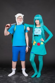 Finn and BMO Cosplay by problematiiques on deviantART