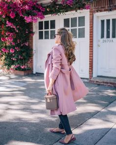 My favorite color for fall just so happens to come in the most gorgeous coat. More of this look over on http://galmeetsglam.com today with /bergdorfs/ & @shopstyle (link in profile!) #fallstyle #dustyrose #pink #sanfrancisco #ontheblog #sponsored