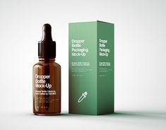 Check out new work on my portfolio: Dropper Bottle & Box Packaging Moc Bottle Packaging, Brand Packaging, Packaging Design, Skincare Packaging, Cosmetic Packaging, Amber Bottles, Cosmetic Design, Bottle Box, Bottle Design