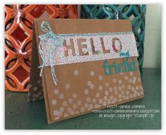 Dotty Angles stamps Craft-somnia Momma: Hello My Dotty Friend ~ Monday Montage