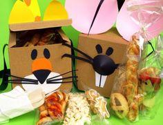 Merenda in scatola per festa bambini