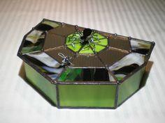 Spider Jewelry / Keepsake Box by krausswunders on Etsy