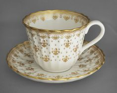 ebay Spode Fleur De Lys, gold, collectable #vintage china #cup & saucer duo, FREE post UK