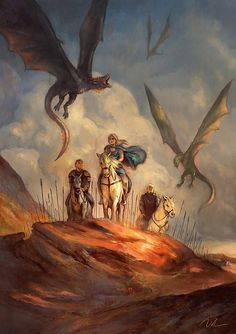 Game of Thrones, Mhysa by Joel Lee - Where the Wildlings at Game Of Thrones Artwork, Game Of Thrones Dragons, Got Dragons, Got Game Of Thrones, Mother Of Dragons, Spades Game, Ser Jorah, Daenerys Targaryen, Game Of Thones