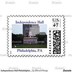Independence Hall Philadelphia Stamps