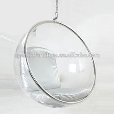 Triumph Acrylic Hanging Bubble Chair, Clear Eero Aarnio Ball Chair, Retro  Design Chair