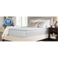 Coaster Marbella II Collection Twin Long Size 13 inch Pillow Top Mattress with 2 Layers Ultra Soft Quilt Foam Tack N' Jump Quilting Foam Topper and Foam Encased Edge Support in W, White Full Mattress, Pillow Top Mattress, White Coasters, California King Mattress, King Size, Plush, Bedroom Decor, Pillows, Twin