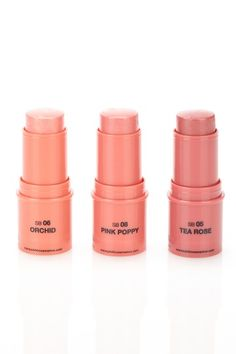 "Want to try ~ Make-up artists say that cream blushes help make your look more ""YOUTHFUL""! Yea!"