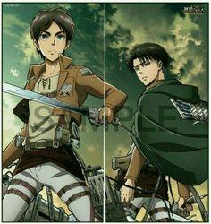 Eren y Levi - Shingeki no kyojin