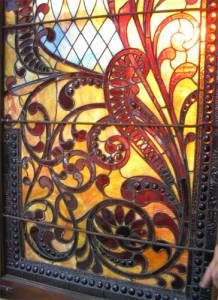 Awesome stained glass window