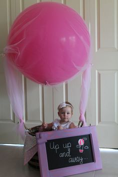 Hot Air Balloon themed party